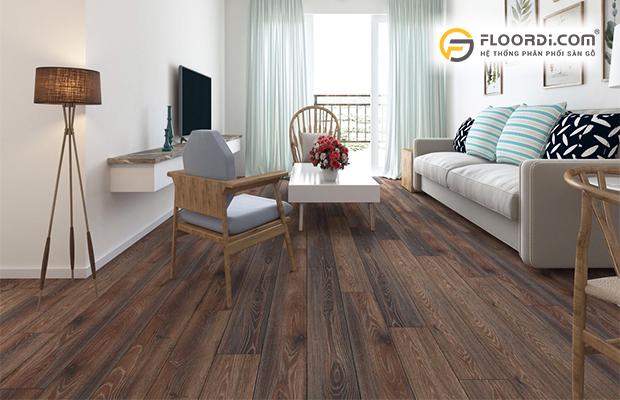 Vai trò của màu sắc sàn gỗ trong thiết kế