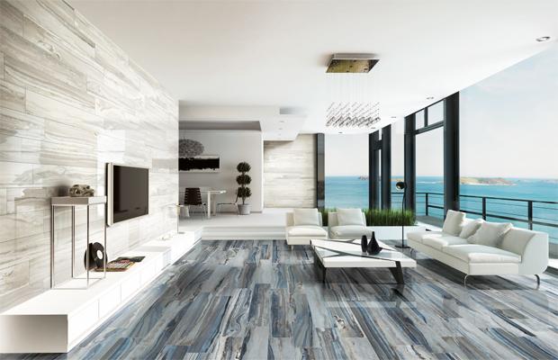 Sàn gỗ mix màu