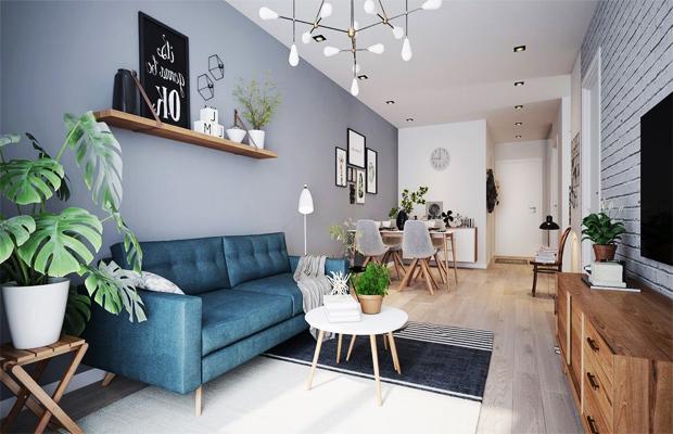 Chọn màu sàn gỗ theo phong cách thiết kế