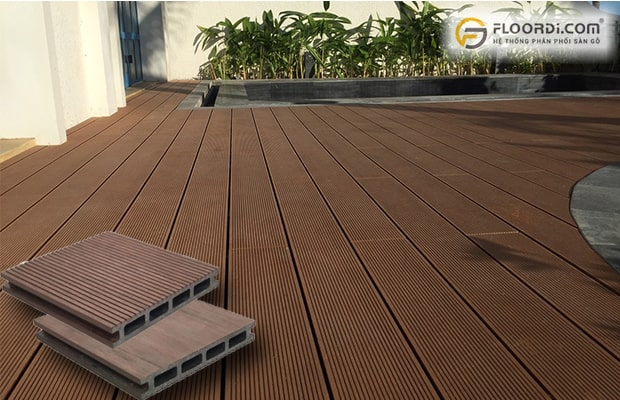 vỉ gỗ nhựa không bền bằng WPC