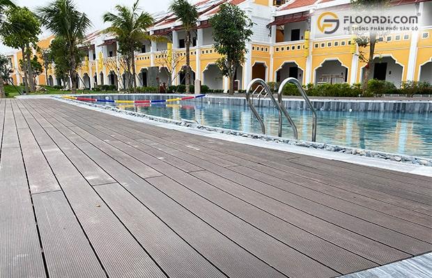 Vật liệu lót sàn hồ bơi đang được ưu chuộng