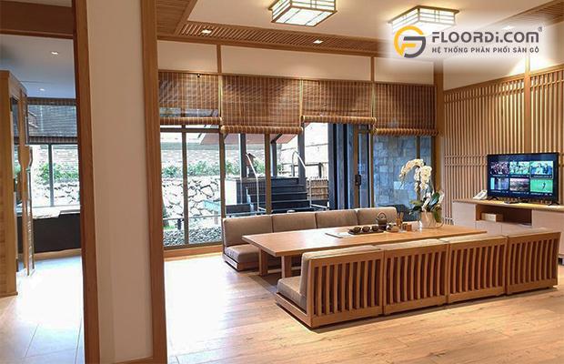 Sàn gỗ công nghiệp chịu nước tốt