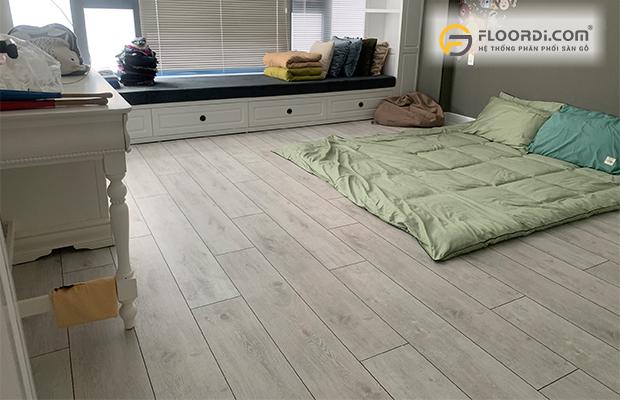 Sàn gỗ phòng ngủ theo kiểu truyền thống