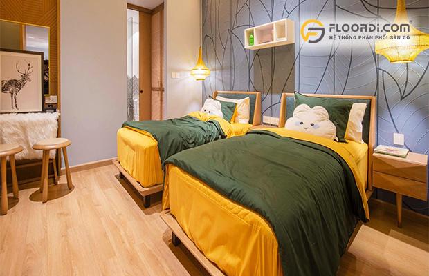 Sử dụng sàn gỗ cho phòng ngủ