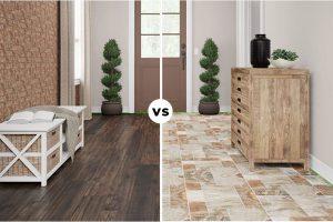 Nên lát sàn gỗ hay gạch men