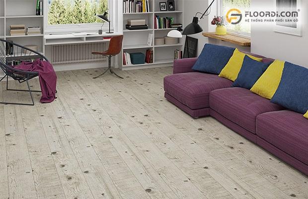 Vệ sinh sàn gỗ đúng cách