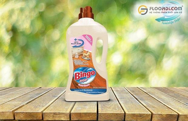 Bingo được xem là dung dịch vệ sinh chuyên dụng dành riêng cho sàn gỗ