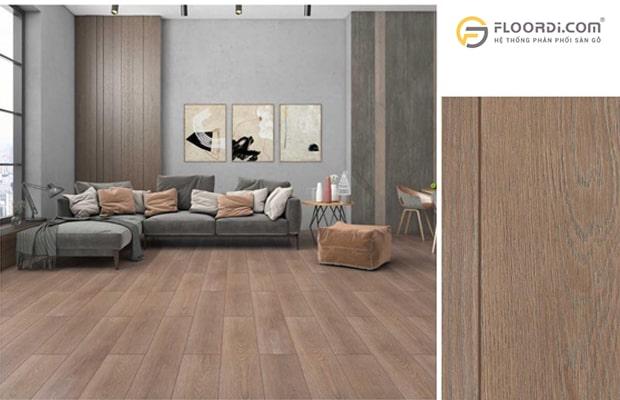 Chọn màu sàn gỗ theo phong cách tổng thể ngôi nhà