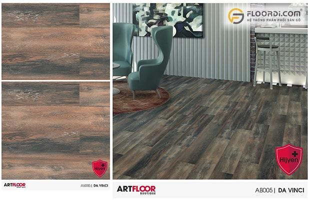 Lát sàn gỗ Mix màu