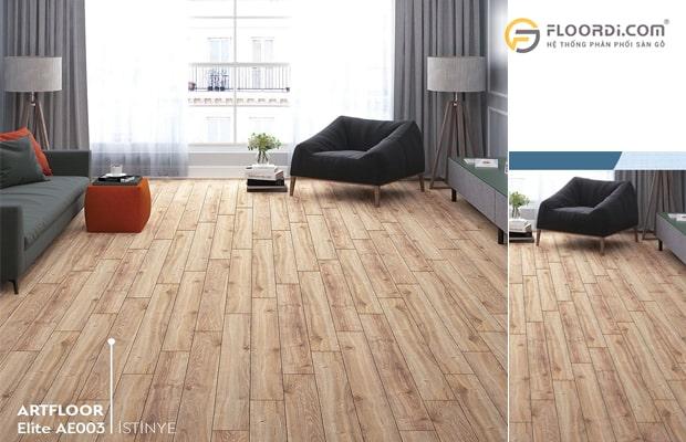 Chọn đúng hướng lắp đặt sàn gỗ