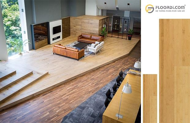 Sàn gỗ tự nhiên cho giá trị thẩm mỹ cao
