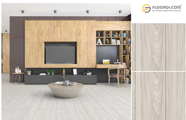 Nếu chọn vật liệu cho công trình nhà ở bạn nên lựa chọn sàn gỗ công nghiệp