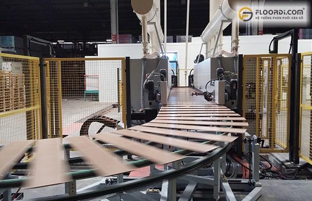 Nên lựa chọn dòng sàn đảm bảo được kiểm soát nghiêm ngặt trong khâu sản xuất