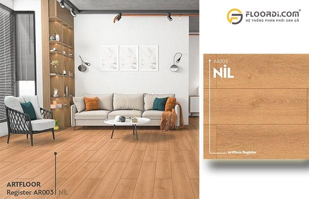 Phối màu sàn gỗ hài hòa với đồ nội thất