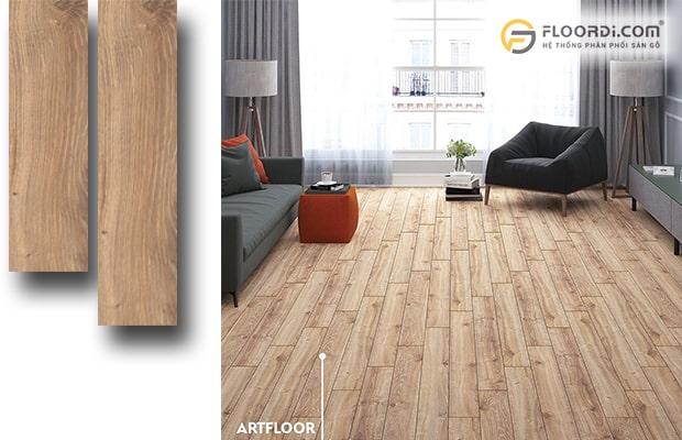 kết hợp hài hòa giữa đồ nội thất và sàn gỗ