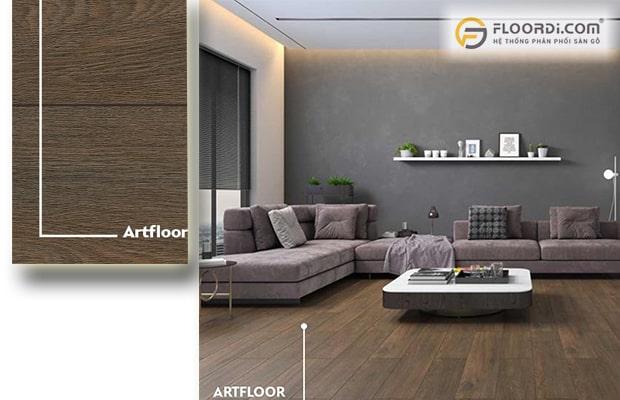 Luxury Style kết hợp với sàn gỗ