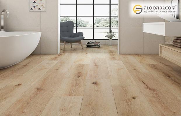 Ván sàn làm từ gỗ nhựa cho khả năng chống mối mọt
