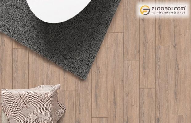 Lựa chọn hèm khóa chất lượng và phù hợp giúp mang lại độ bền cao cho nền sàn ốp gỗ