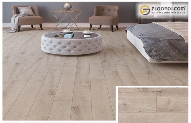 Hướng lắp sàn gỗ theo kiểu song song thẳng mạch
