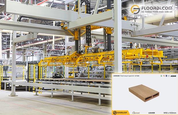 Lam trang trí nhập khẩu từ Malaysia sở hữu chất lượng vượt trội