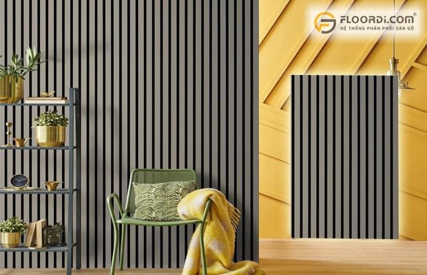 Tấm ốp lam sóng được dùng trang trí cho các công trình cao cấp đòi hỏi tính sáng tạo cao