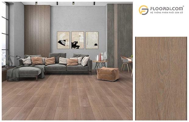 Lắp sàn gỗ cho nhà ở mang lại vẻ đẹp hiện đại và sang trọng