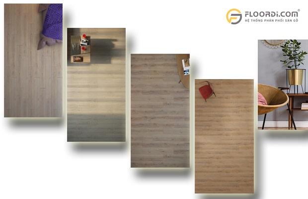 Lựa chọn màu sắc sàn gỗ