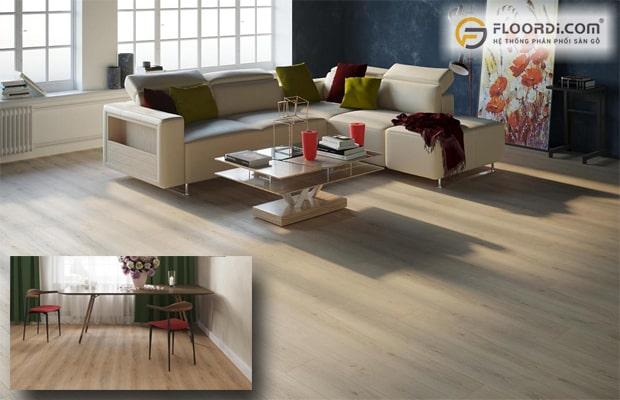 Lựa chọn sàn gỗ phù hợp với phong cách ngôi nhà