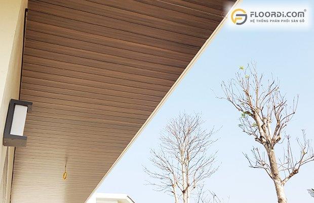 Lựa chọn sàn gỗ cho khu vực ngoài trời