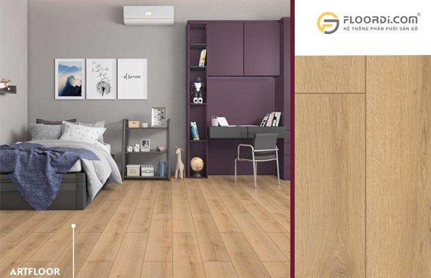 Lựa chọn sàn gỗ cho khu vực phòng ngủ