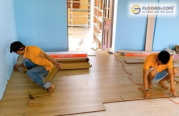 Đơn vị thi công sàn gỗ chuyên nghiệp