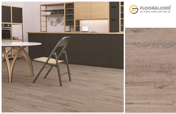 Ưu điểm sàn gỗ phòng bếp