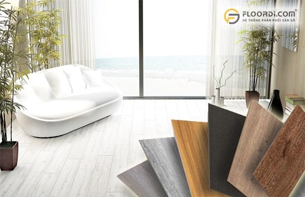 Sàn gỗ châu Âu cho khả năng chịu nước chống ẩm cực tốt