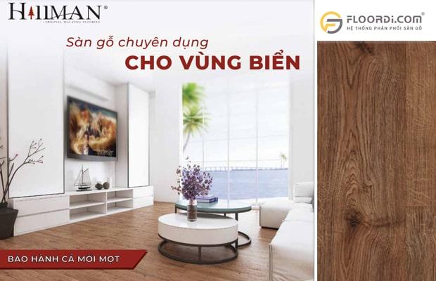 Hillman là thương hiệu sàn ván gỗ có khả năng chống mối mọt cao