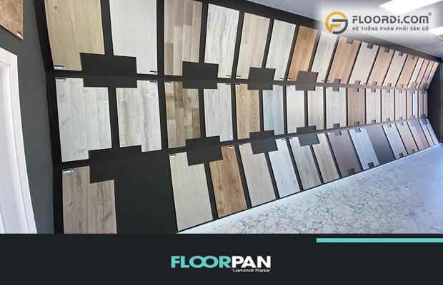 Floorpan dòng sàn Laminate nhập khẩu từ châu Âu