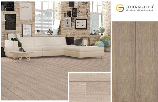 Phối màu sàn gỗ theo một phong cách nội thất cụ thể tạo độ an toàn và hợp lý