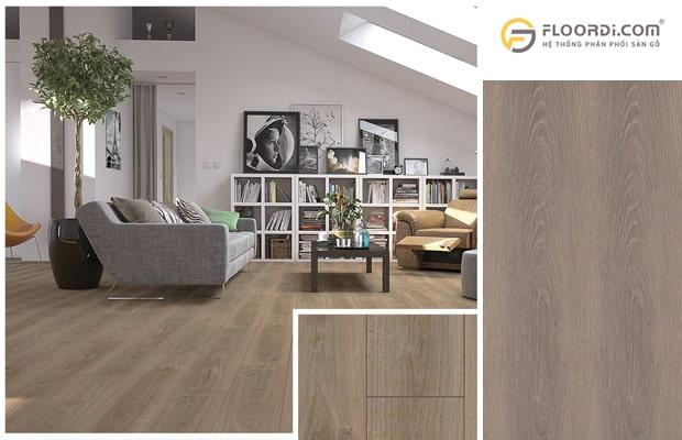 Sàn gỗ màu trung tính rất dễ để phối hợp cho bất kỳ không gian nào