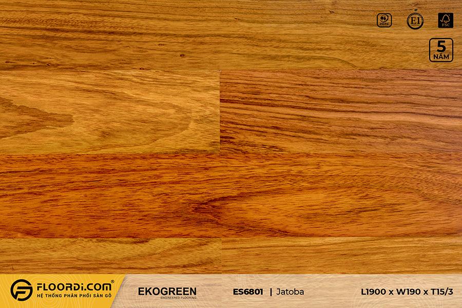 Sàn gỗ ES6801 Jatoba – Signature – 15/3mm