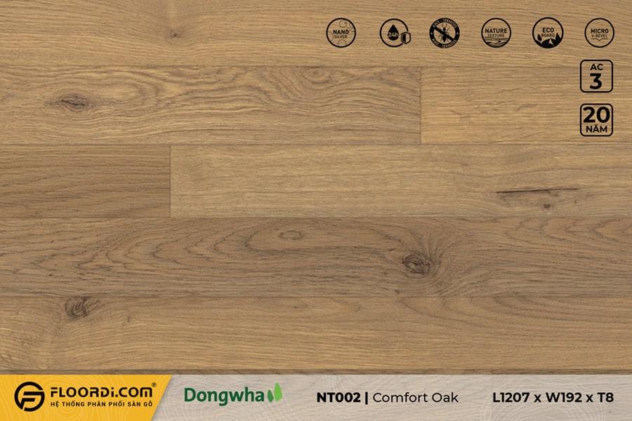 Sàn gỗ NT002 Comfort Oak – 8mm – AC3