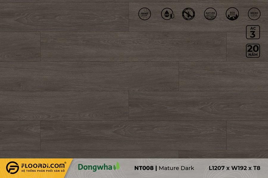 Sàn gỗ NT008 Mature Dark – 8mm – AC3
