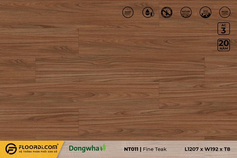 Sàn gỗ NT011 Fine Teak – 8mm – AC3