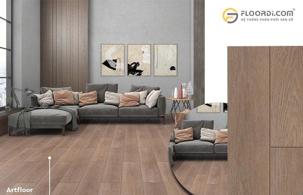 Trong không gian nhà ở, nội thất thì bạn nên chọn dòng sàn 8mm