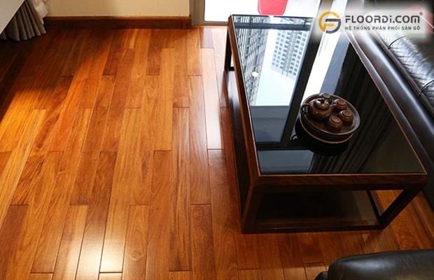 Nên chọn sàn gỗ Căm Xe ghép thanh thay thế nguyên thanh