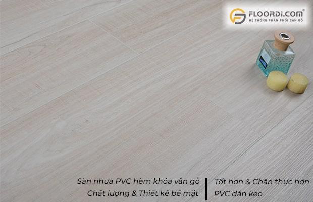 Sàn nhựa SPC tốt hơn PVC và chuyên dùng cho các khu vực ngoài trời