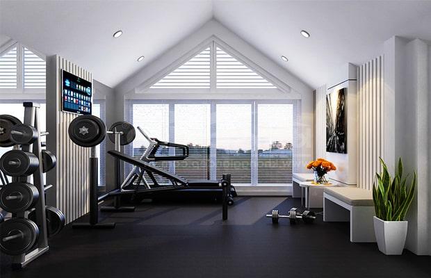 Sportflor là sản phẩm chuyên dụng dành cho các khu vực phòng gym