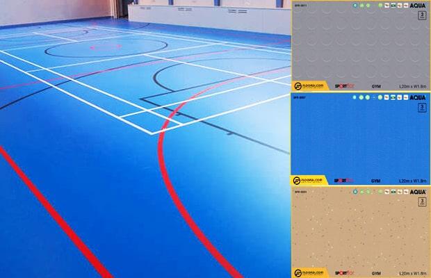 Sportflor hoàn toàn phù hợp để lắp đặt cho công trình công cộng