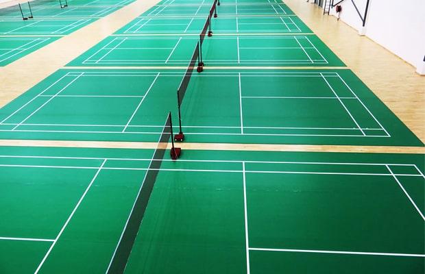 Sàn Vinyl thể thao là vật liệu lót sàn chuyên dụng cho công trình đa động