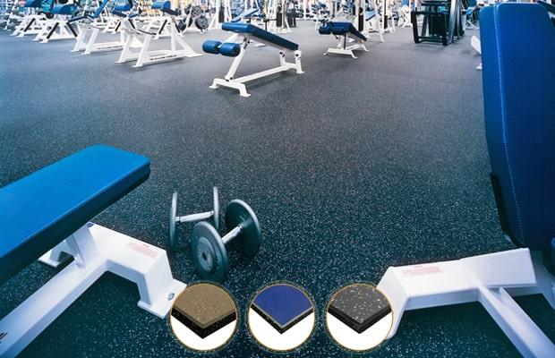 Sàn Vinyl dành cho phòng tập gym