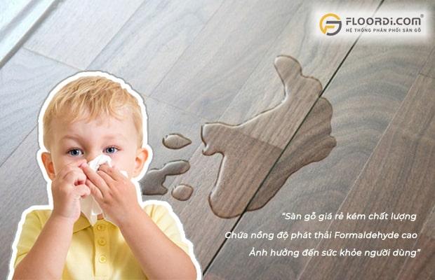 Sử dụng sản phẩm có nồng độ E cao sẽ ảnh hưởng đến đường hô hấp