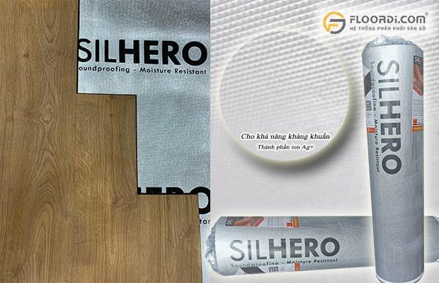 Các ion Ag+ trong tấm lót sàn Silhero cho khả năng ngăn chặn vi khuẩn